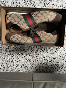 Gucci Loafer Sneaker Shoes 117711 Size 16 G