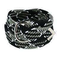 New Nocona Belt Co Men's Big & Tall Nylon Cord Woven Belt