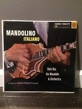 Dick Dia & His Mandolin Orchestra* ‎– Mandolino Italiano LP, Audio Fidelity