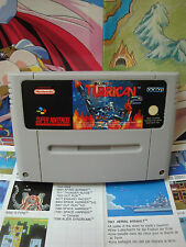 Super Nintendo SNES:Super Turrican 2 [TOP & 1ERE EDITION RARE] SEUL - Fr