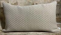 51cm x 30cm John Lewis 'Park Lane Oatmeal' Suede Handmade Cushion Cover EOKsews