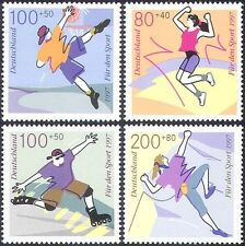 Germany 1997 Youth Sports/Basketball/Skating/Climbing/Games 4v set(n27868)