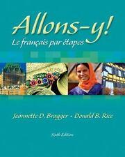 Allons-y! Le Français par étapes (with Audio CD), Jeannette D. Bragger, Donald B