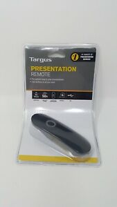 NEW SEALED Targus Presentation Remote AMP18US Black 2.4 GHz Wireless USB PC MAC