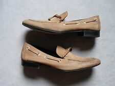 PIERRE HARDY MENS LIGHT BROWN SOFT LEATHER SLIP ON LOAFERS DRESS SHOES SIZE 9.5