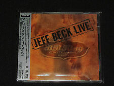 Jeff Beck Live: B.B. King's Blues Club & Grill, New York 2005 Sony/Japan CD OOP
