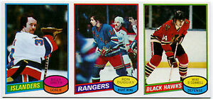 1980-81 Topps BILLY SMITH RON DUGUAY MIKE O'CONNELL Vault 1/1 Uncut Sheet Strip