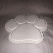 Excellent  PAW PRINT  texture Tile Slump   stained glass kiln mold