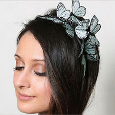 Multilayer Butterfly Headband Cloth Hairband Bridal Hair Accessories Photography