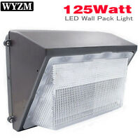 LED 125W Wall Pack Light 600-1000W HPS/HID Replacement 12500 Lumens 5700K White
