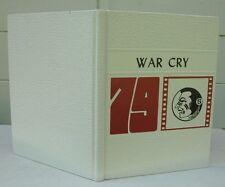 War Cry 1979 Southwest Junior High School Yearbook - Lakeland, Florida