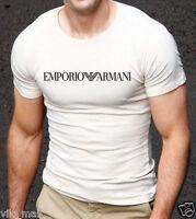 White  Emporio Armani body fit T-shirt size M--L--XL  <<-