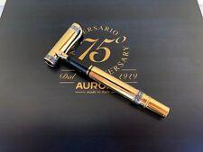 Penna Aurora stilografica 75th anniversario limited edition ORO 18Kt pen gold