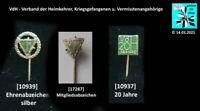VdH - Verband der Heimkehrer, Kriegsgefangenen u. Vermisstenangehörige Abzeichen