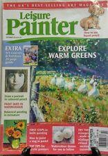 Leisure Painter October 2016 Explore Warm Greens Portraits FREE SHIPPING sb