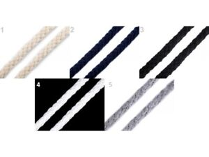 Kordel 10mm - Meterware - Baumwollkordel Baumwolle Seil Hoodykordel