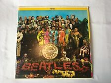 Beatles Vintage Vinyl Sgt. Peppers Gatefold Sgt Peppers Cut Outs SMAS X-1-2653