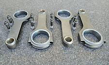 "FIAT 1.3/1.4/1.5/1.6L GT/PUNTO/TIPO/X19 H BEAM RODS 5.060"" 4PCS A SET ARP BOLTS"