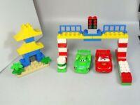 Lego Disney Cars movie duplo building blocks Tokyo Racing movie 99% complete