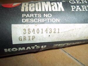 Genuine  RedMax  BC442  Grip  Trigger Side   Part #  354014321