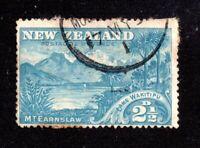 New Zealand 2 1/2d blue 'Wakitipu' fine used SG249 WS20594