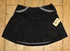 Bnwt Women's Oakley Crush Pleated Mini Skirt New Black UK14