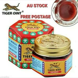Tiger Red Oint Balm 21ml Pain Relief Ointment Soothe FREE POSTAGE