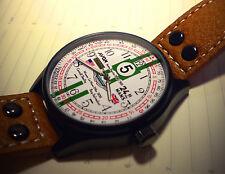 Le mans 1959 carroll shelby et roy salvadori, aston martin style hommage watch