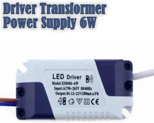 6w Led driver brand new LED Light Lamp Driver Transformer Power Supply 6W