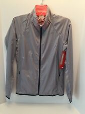 NWT New Balance WRJ5112 Women's Gray Shadow Run Jacket Size Small