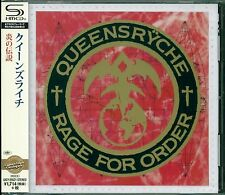 RAGE FOR ORDER Remastered 2015 SHM CD +4 BONUS TRX by QUEENSRYCHE - NEW & SEALED