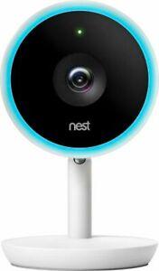 Nest NC3100US Cam IQ Indoor 1080p HD Wireless Security Camera - White