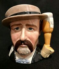 """New ListingRoyal Doulton 'Wild Bill Hickock' D6736 1985 Toby Character Jug 5.5"""" Wild West"""