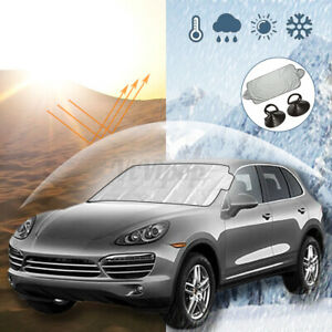 Car SUV Front Windshield Screen Visor Cover Anti Sun Snow Rain Frost Ice Dust