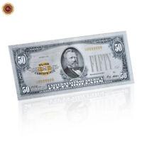 WR USA 1928 $ 50 Dollarschein .999 Silber Sammler Banknote seltene Sammlung