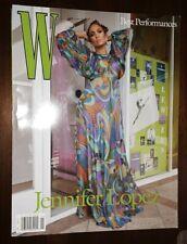 W Magazine Volume One 2020 Jennifer Lopez
