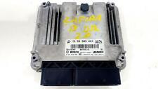 2013 VAUXHALL ZAFIRA ECU 2.0L DIESEL ENGINE ECU 55585024 0281018769