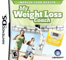 My Weight Loss Coach USED SEALED (Nintendo DS, 2008)