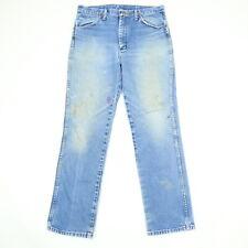 06757c0d Destroyed Vtg Wrangler SLIM Fit Jeans Mens 32x31 Nicely Faded Distressed  Cowboy