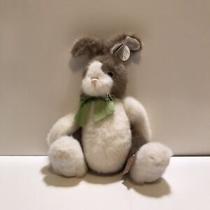 """The Bearington Bunny Rabbit Jumpy Easter with Tags Jointed 15"""" Tall"""