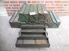 1x Werkzeugkiste Transportkiste Kiste ohne Inhalt 5tlg. ex BW Bundeswehr (MK1)