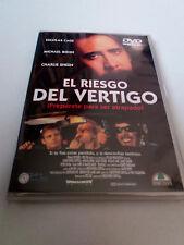 """DVD """"EL RIESGO DEL VERTIGO"""" COMO NUEVO NICOLAS CAGE MICHAEL BIEHN CHARLIE SHEEN"""