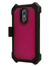 LG Stylo 3 /LS 777 Builtin Screen Case 360° Rugged Holster Belt Clip Clear Case