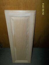 "2 LAZY SUSAN CABINET DOORS OAK RAISED PANEL UNFINISHED FANCY SQUARE 10"" X 28"""