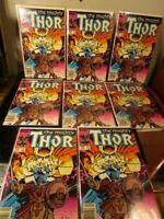 The Mighty Thor #342 (April 1984, Marvel) LOT OF 8~~ BAGGED BOARDED~