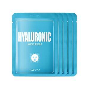 Lapcos Hyaluronic Acid Sheet Mask 5 pack