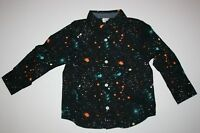 NEW Gymboree Boys Star Wars Dress Top NWT Neon Splatter Shirt 18-24m 2T 3T 4T
