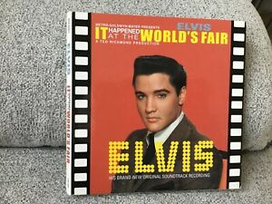 """Elvis Presley It happened at the  cd ftd follow that dream 7"""" gatefold cover"""