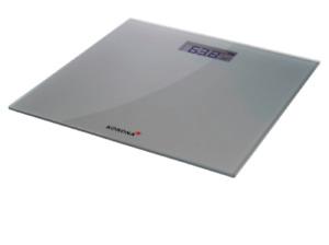Korona Glaswaage Luna 74757 Silber bis max. 180 Kg LCD-Display 7552