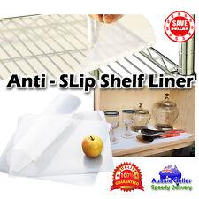 4x 30x70 Non Slip Clear TOOL BOX Kitchen Shelf Drawer Cupboard Liner Mat